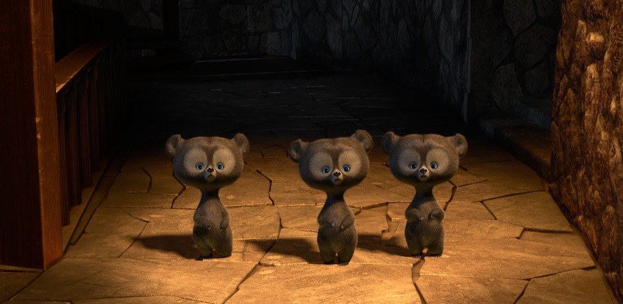 """""""Brave"""" (Pictured) Bear Cubs. ©2012 Disney/Pixar. All Rights Reserved."""