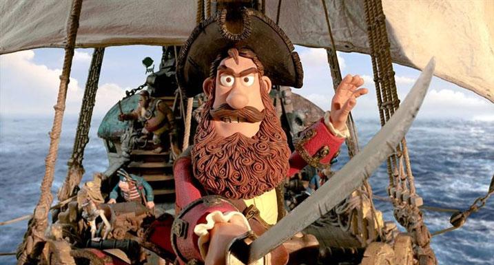 Aardman's Pirates!