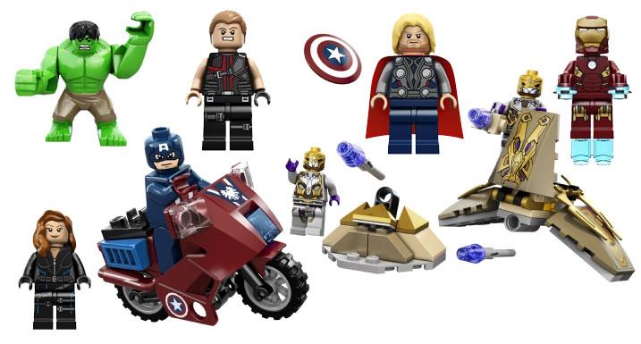 Avengers LEGOs