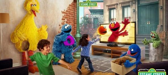 SesameStreetKinectTV